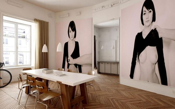 Art de vivre a look into some parisian homes la maison by elle - Appartement modern design ...