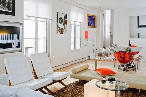 Art de vivre a look into some parisian homes la maison - Appartement decoration design glamour vuong ...