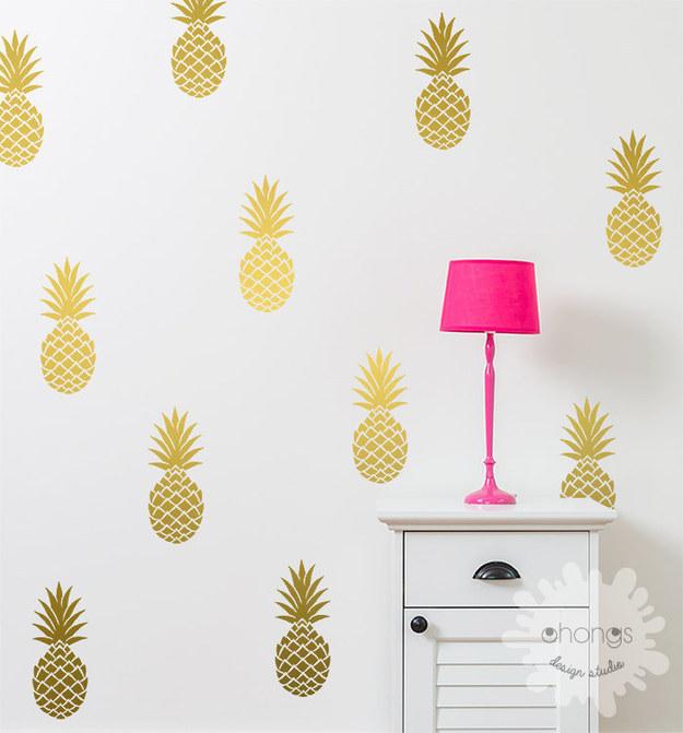 pineapple wall