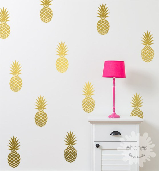 pineapple wall