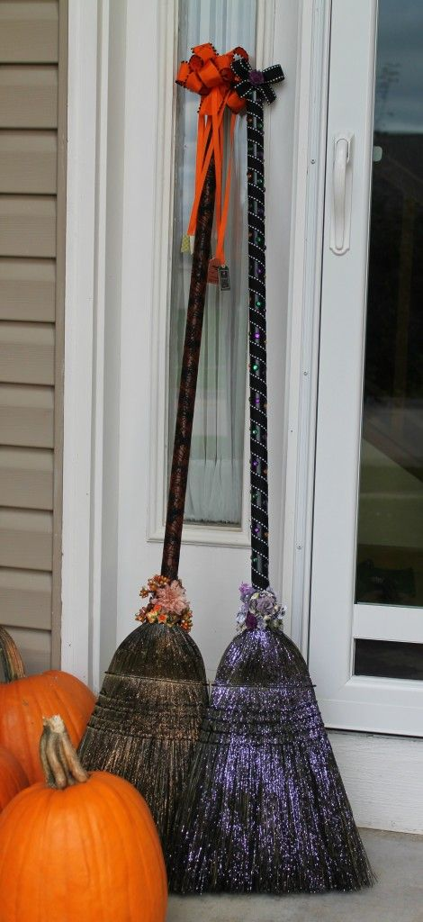 glittery-brooms