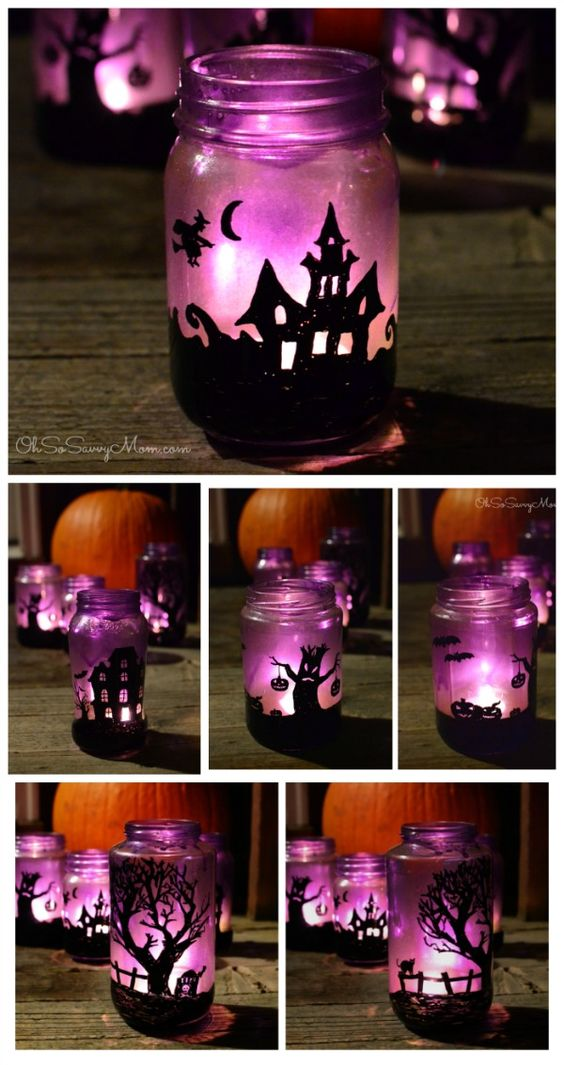 tea-light-halloween-holders