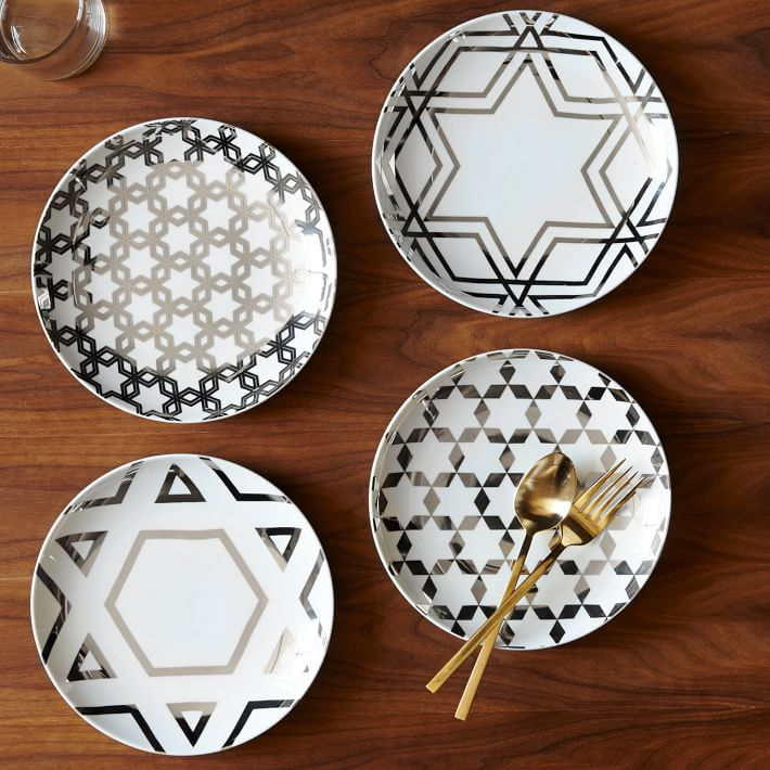 silver-star-hanukkah-plates-set-of-4-o