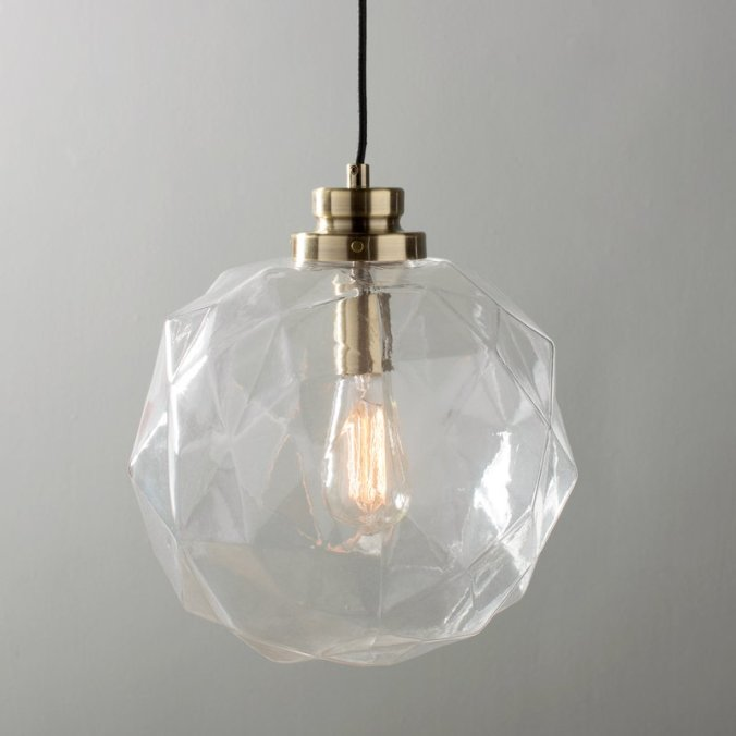 1-Light+Globe+Pendant